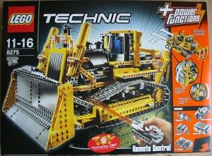 Lego technic bulldozer