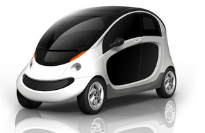 Peapod Electric Car GM