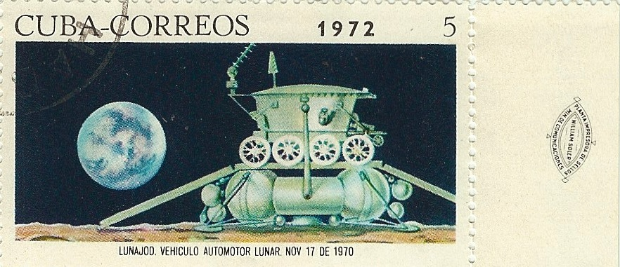 Lunokhod stamp 12